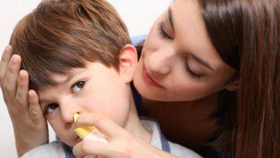 Устранение ринита у ребенкастарше 1 года